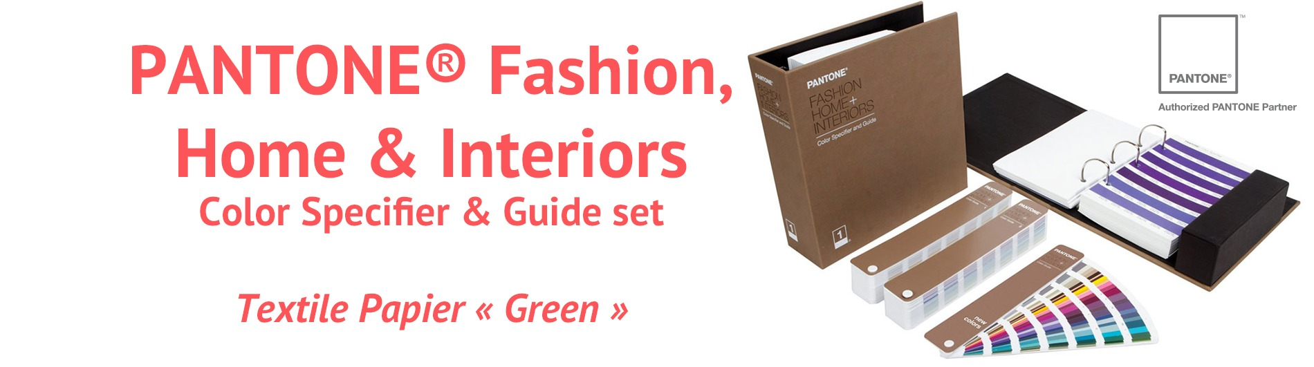 PANTONE® Fashion, Home + Interiors TPG Color Specifier & Guide set